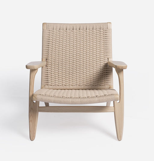 Gabriella Lounge Chair - Ash & Natural