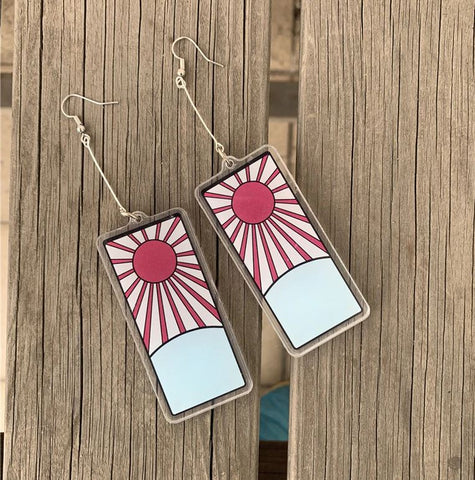 Kimetsu no Yaiba: Tanjiro Kamado Earrings
