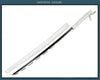 Image of Demon Slayer: Kimetsu no Yaiba Tanjirou Zenitsu Inosuke Giyu Sword Cosplay Blade