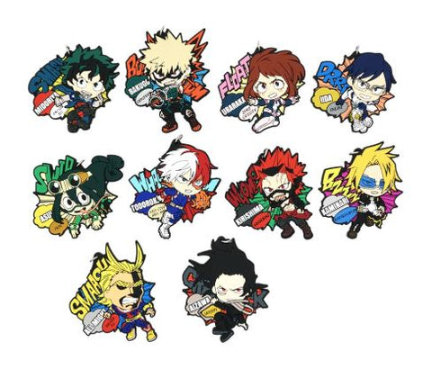 Boku no Hero Academia: Character and Quirk PVC Keychains