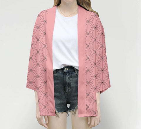 Kimetsu no Yaiba: Demon Slayer Casual Cosplay Haori Cardigan