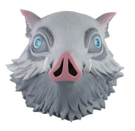 Kimetsu no Yaiba: Demon Slayer Inosuke Hashibira Boar Head Cosplay