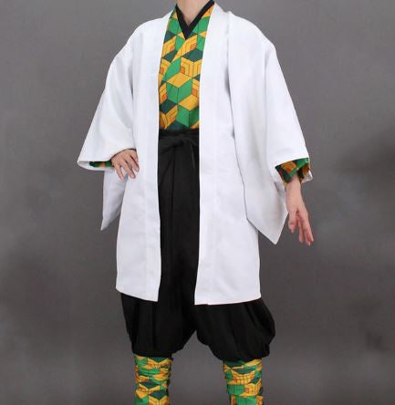 Kimetsu no Yaiba:  Sabito Cosplay Outfit Costume Demon Slayer