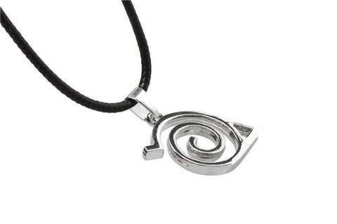 Naruto Konoha Symbol Metal Necklace