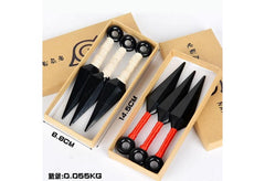 3pcs Naruto Kunai Box Gift Set