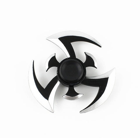 Naruto Metal Fidget Spinner Blue