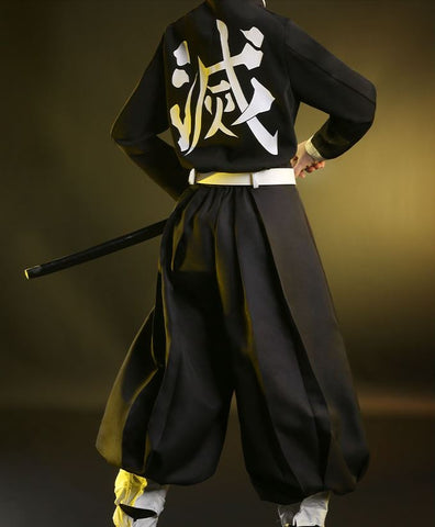 Kimetsu no Yaiba: Demon Slayer Tanjiro Cosplay HIGH QUALITY Authentic Costume