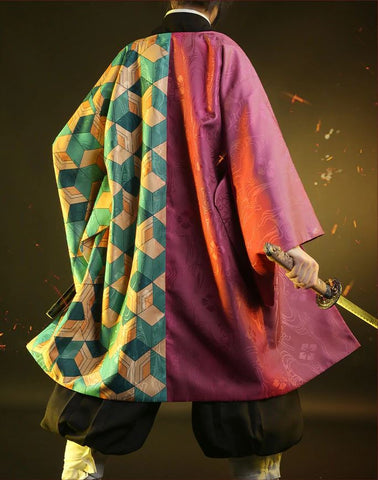 Kimetsu no Yaiba: Demon Slayer Giyuu Tomioka Cosplay HIGH QUALITY Authentic Japanese Costume