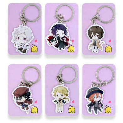 Bungou Stray Dogs: Character Keychains