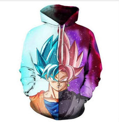 Dragon Ball Split Version Vivid Sweatshirt