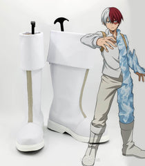 Boku no Hero Academia: Shoto Todoroki Boots High Quality Cosplay