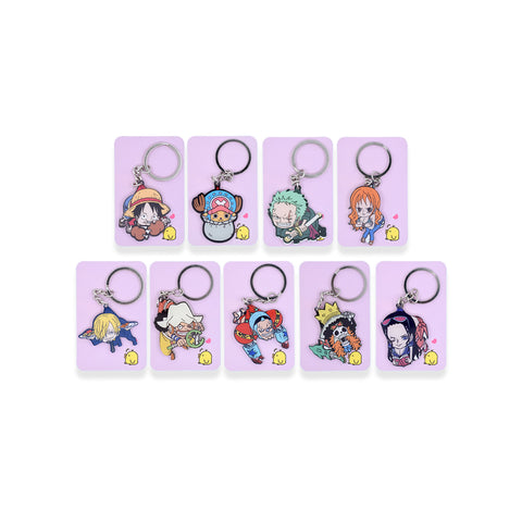 One Piece: Character Keychains