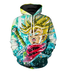 Dragon Ball Trunks Printed Sweatshirt