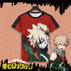 Image of My Hero Academia: Bakugo Katsuki Themed T shirt Original Print