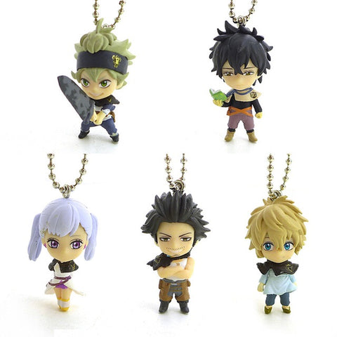Black Clover: Asta Noelle Luck Yuno Yami PVC Figure Keychains