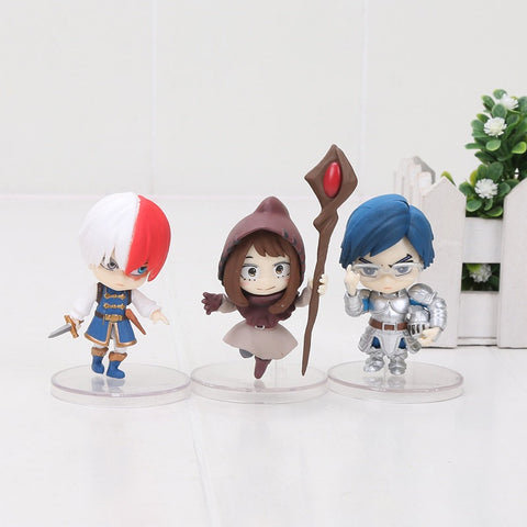 Boku no Hero Academia: Medieval AU Full Set PVC Figures