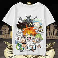 The Promised Neverland: Emma Norman Ray Phil Chibi T-Shirt