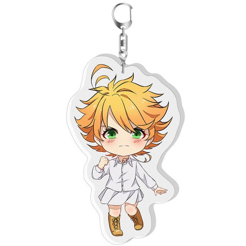 The Promised Neverland: Clear Acrylic Double-Sided Keychains