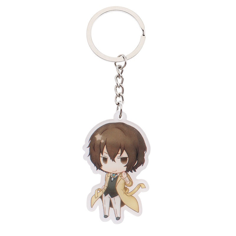 Bungou Stray Dogs: Character Chibi Keychains