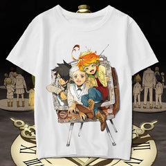 The Promised Neverland: Emma Norman Ray TV Printed T Shirt