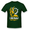 Image of My Hero Academia: It's Fine Because I'm Here! All Might Themed BNHA T Shirt 100% COTTON