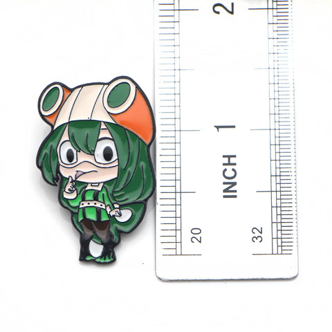 My Hero Academia: Character Pins Brooches Collectable Porcelain/Enamel plated
