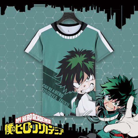 Boku no Hero Academia: Midoriya Izuku Themed T-Shirt Original Print