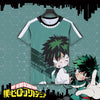 Image of Boku no Hero Academia: Midoriya Izuku Themed T-Shirt Original Print