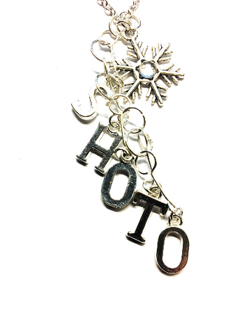 Boku no Hero Academia: 'Shoto' Steel Star Charmed Icy Silver Necklace