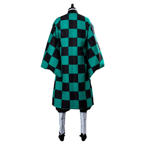 Kimetsu no Yaiba: Demon Slayer Tanjiro Cosplay HIGH QUALITY Costume