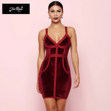 Donatella Plush Bandage Dress