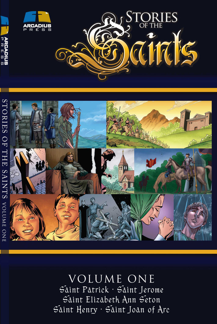 Stories of The Saints Volume 1