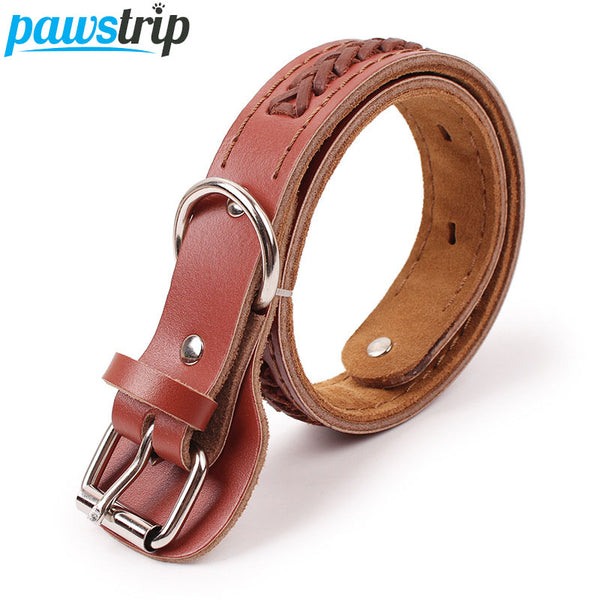 Leather Dog Collar Handmade