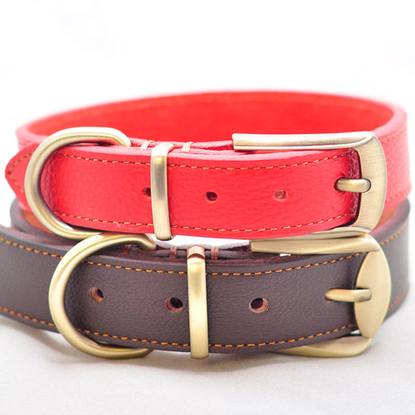Red Dog Collar Adjustable