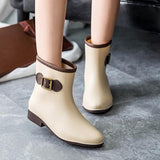 Waterproof Rain Ankle Boots