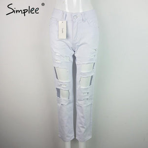 Cool denim vintage straight jeans