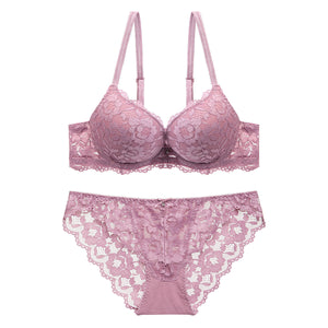 Lace Bra+Panties Set