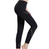 Workout Gym Legging Mesh High Elastic Breathable