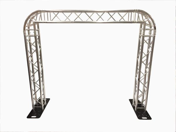 Complete Square Aluminum Truss Goal Post Lighting System For DJ Lights Speakers