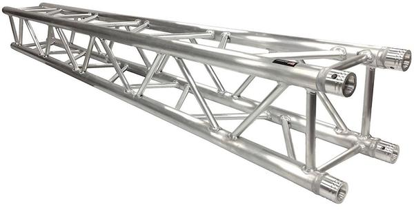 Two 14' Crank Up Stands With Three 8.20' Square Aluminum