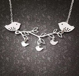 Summer Songs Necklace in Sterling Silver