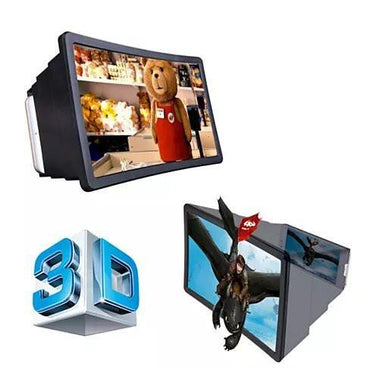 3D Screen Enlarger And Viewer Portable Box For Your Smart Phone