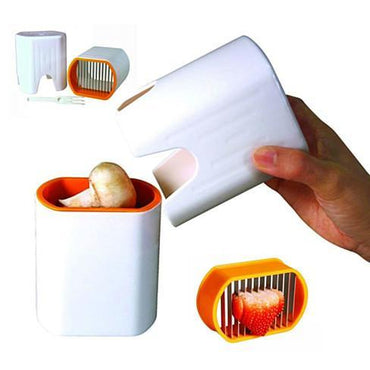 Blink And Slice Speedy Slicer - Slice Your Fruits And Veggies In The Blink Of An Eye