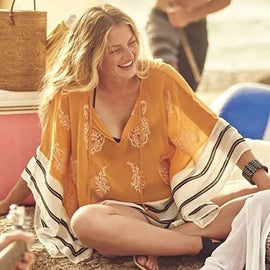 MANGO DELIGHT Tunic And Cover Up
