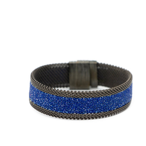 Navy Galaxy Shimmer Stingray Bracelet