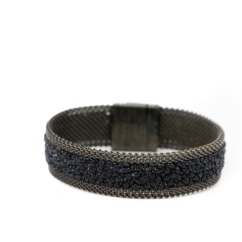 Black Shimmer Stingray Bracelet