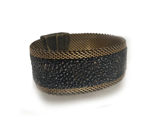 Black Galaxy Shimmer Stingray Cuff