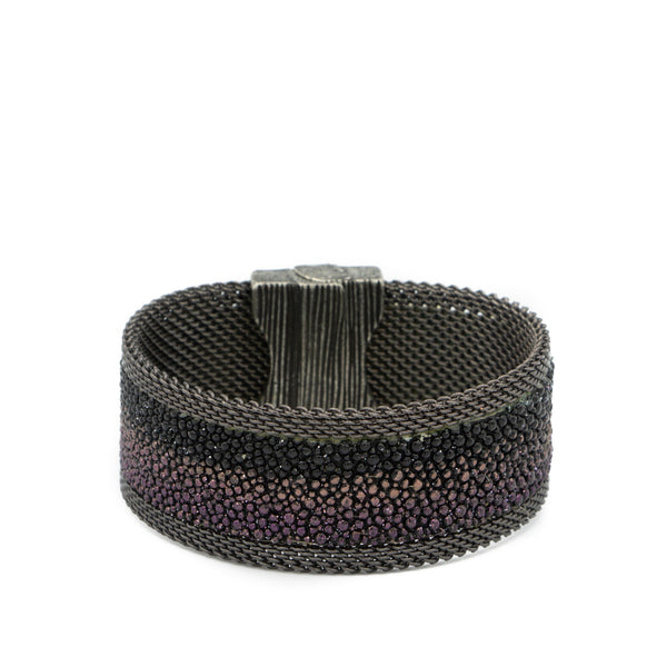 purple ombre stingray cuff