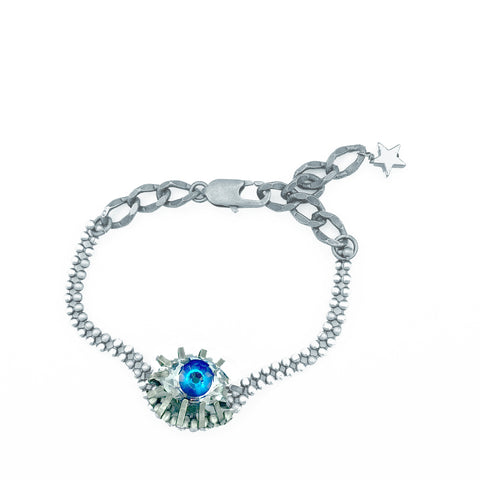 Swarovski Blue Eye Bracelet