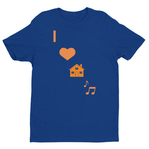 I LOVE HOUSE MUSIC Short Sleeve T-shirt